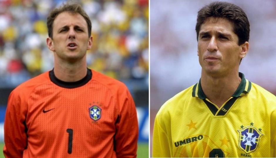 c0c5b43749 Ceni foi Penta com a Seleção em 2002. E Jorginho Tetra com a Amarelinha em